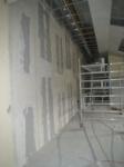 erste neue Wände